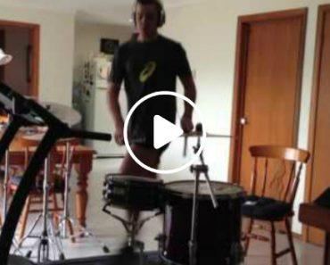 The Treadmill Drummer 3