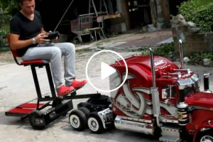 Peterbilt 359 Model Truck RC... Awesome!!! 10