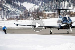 Snowboarder Pulled By Plane 11
