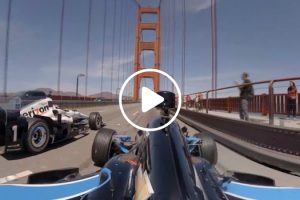 Indycars Over The Golden Gate Bridge 12