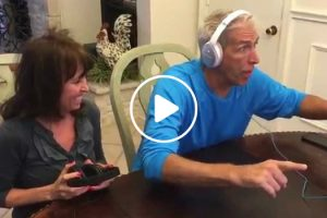 Adorable Reaction To Finding Out They're Going To Be Grandparents Whilst Doing The Whisper Challenge 11