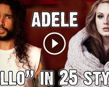 """Adele """"Hello"""" In 25 Defferent Styles 2"""