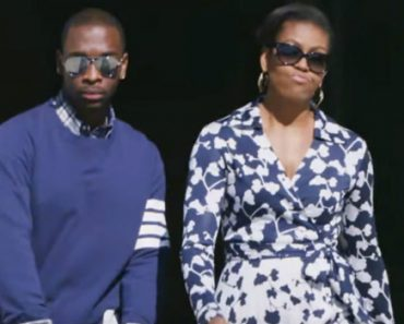 Michelle Obama And Jay Pharoah Made a Hilarious Rap About Going To College 3