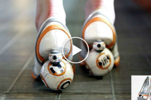 These DIY BB-8 Heels Are The Most Awesomely Ridiculous Shoes In The World 12