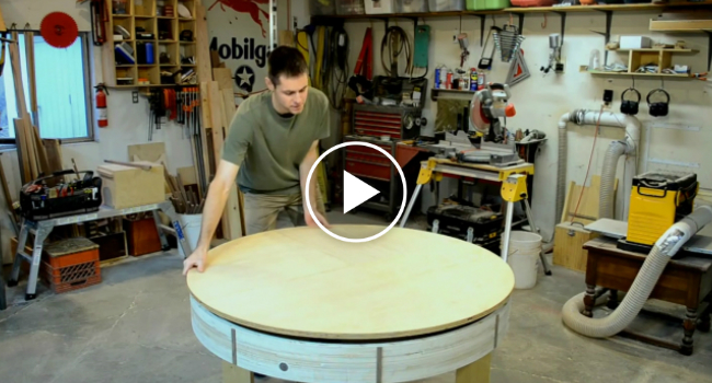He Crafted This Small Wooden Table, But Watch What Happens ...