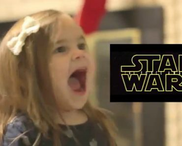 "Tiny Geek Has The Happiest Reaction Of ""Star Wars"" Trailer 6"