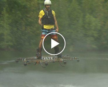 Canadian Develops Futuristic Hoverboard 4