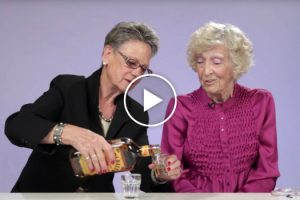 Grandmas Try Fireball Whisky For The First Time And It's Hilarious 11