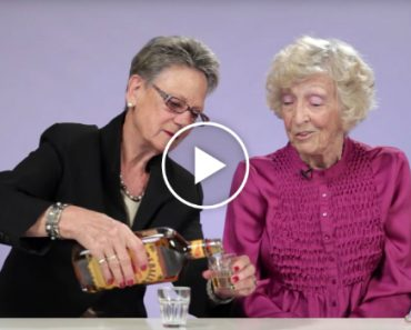 Grandmas Try Fireball Whisky For The First Time And It's Hilarious 2
