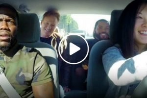 Ice Cube, Kevin Hart And Conan O'Brien Torment a Student Driver 12