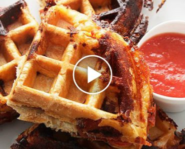 Pizza Waffles: The Mouth-Matering Food Hack That Everyone Needs To Try 4