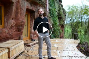 Man Builds a Modern House In a 700-Years-Old Cave 12