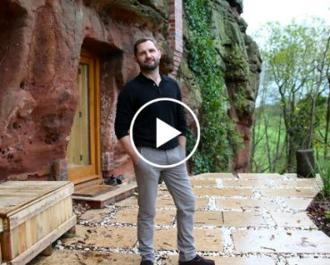 Man Builds a Modern House In a 700-Years-Old Cave 9