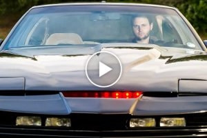 Real Life Knight Rider: Fan Spends £18,000 Recreating Iconic Car 11