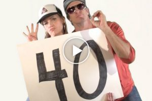 Holderness Family Celebrates The Joy Of Turning 40 With Hilarious Bieber Parody 12