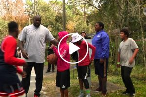 """The Rematch: GPD """"Basketball Cop"""" Brings HUGE Backup As Promised To Street Basketball Game 12"""