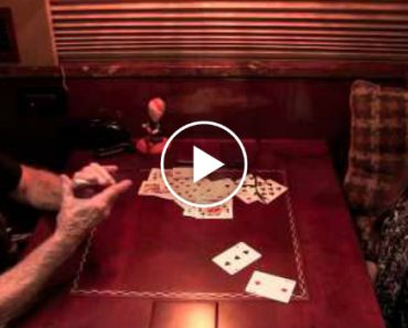 Willie Nelson Starts Flipping Playing Cards. His Next Move Leaves Her Speechless. 8