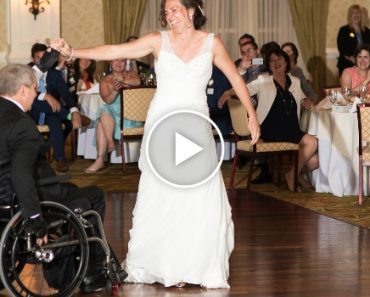 Quadriplegic Dad Dances After 17 Years, At Daughter's Wedding 8