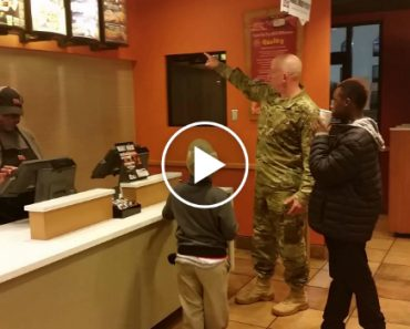 Soldier's Act Of Kindness In Taco Bell Goes Viral 9