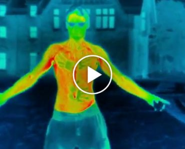 Thermal Imaging Camera Captures Footage Of How Freezing Weather Impacts Humans 5