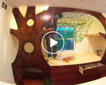 Crafty Dad Transforms His Kid's Bedroom On a Budget 6