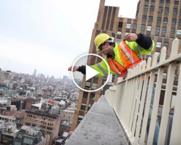 His Drone Get Stuck On Top Of a Building In New York, What He Made To Redeem It Is Insane 2