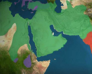 Animated Map Shows How Religion Spread Around The World In The Last 5000 Years 5