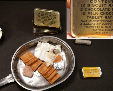 Man Finds Out How Awful It's The Flavor Of 1945 World War II Ration Food 9