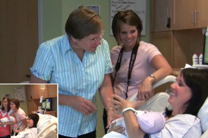The Clean Cut: Couple Surprises Family After Baby's Birth 12