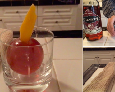 How To Make An Ice Ball Cocktail 1