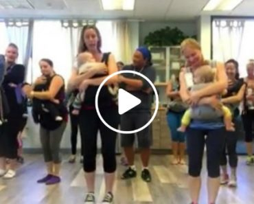 This Babywearing Dance Class May Just Be the Most Fun Mama Workout You've Ever Seen 4