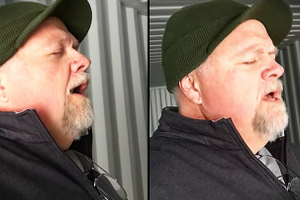 Man Sings Rendition Of Ave Maria In Shipping Container And The Sound Is Amazing 11