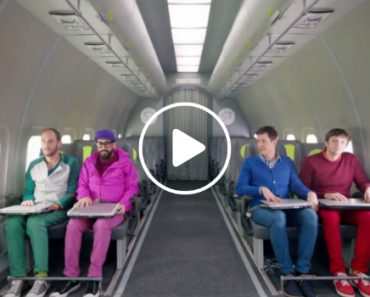 OK Go Choreographed a Zero Gravity Music Video In The Sky 1