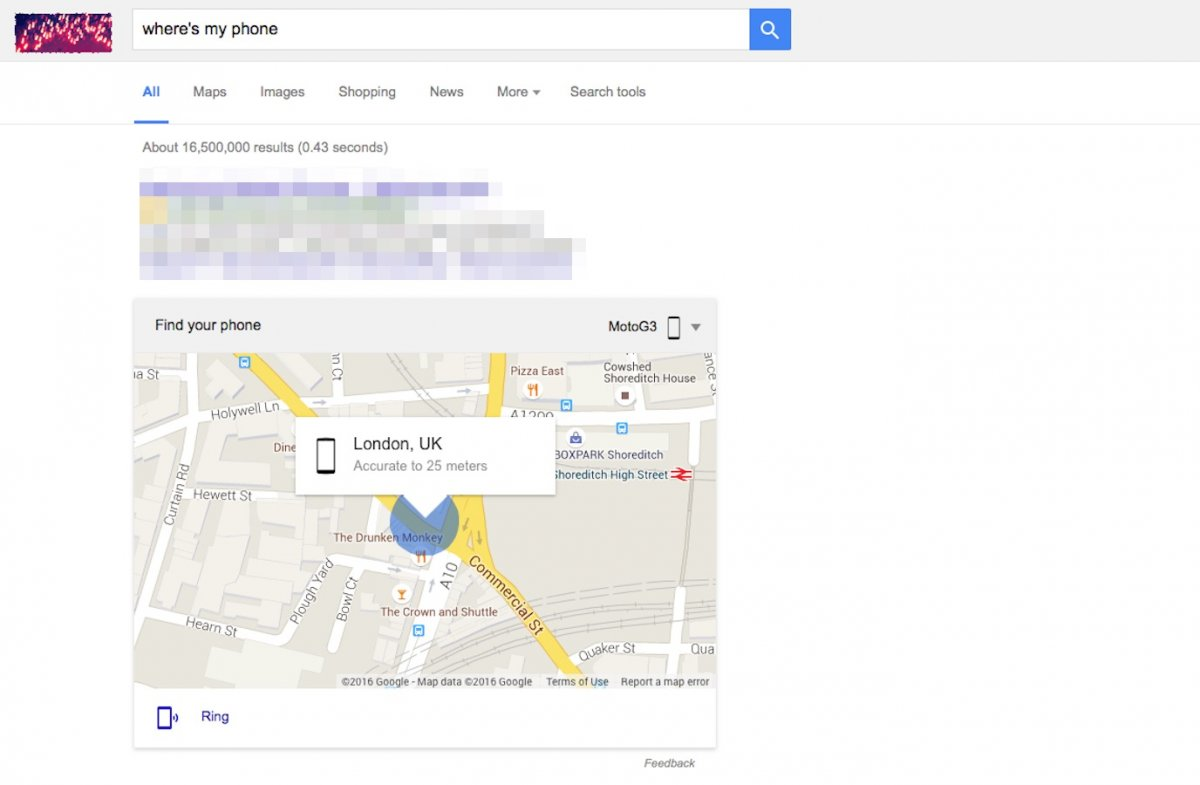 how to make google your homepage on android phone