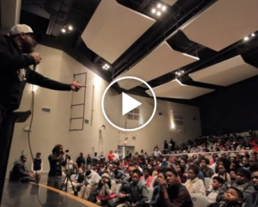 Things Get Intense When Motivational Speaker Gets Interrupted By Students 4