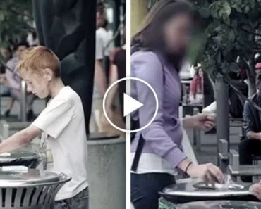 This Homeless Boy Was Desperate To Find Food… But Watch These People's Reaction. 3
