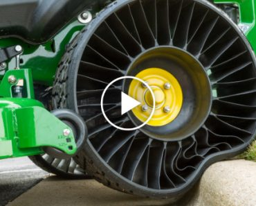 Behold The Tweel, a Tire That Never Goes Flat! 9
