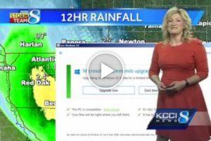 Microsoft Windows 10 Update Interrupts Weather News 11