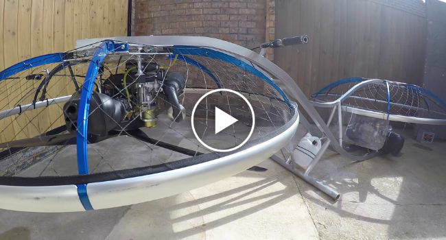 Homemade HoverBike Actually Works! 11
