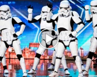 Stormtroopers Got Talent And Make Simon's Dream Come True 4