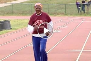 100-Year-Old Woman Shatters 100 Meter Dash Record 12