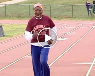100-Year-Old Woman Shatters 100 Meter Dash Record 1