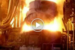 Check Out This Electric Arc Furnace in Action 10