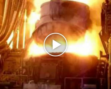 Check Out This Electric Arc Furnace in Action 7