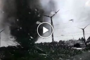 Curious Germans Get Very Close To Twin Tornadoes Before The Novelty Finally Wears Off 9