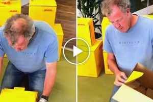 Jeremy Clarkson Struggling To Assemble A DHL Box Is Funnier Than You'd Think 11