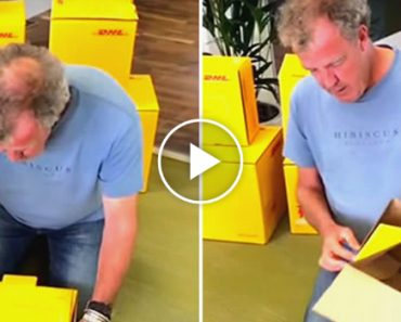 Jeremy Clarkson Struggling To Assemble A DHL Box Is Funnier Than You'd Think 3
