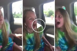 12-Year-Old Birthday Girl Has Hilarious Reaction To Surprise Trip To Disney World 11