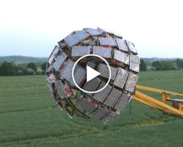 Crazy Inventor Builds An Epic 5,000 Fireworks Death Star And It's Awesome 1