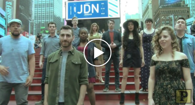 A Capella Group Pulls Off Incredible Broadway Mashup In
